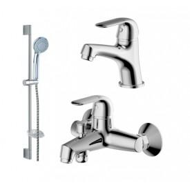 Комплект для ванной комнаты Bravat Simple 3 в 1  F00316C