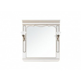 Зеркало VOD-OK Мариэль Белое 95 см