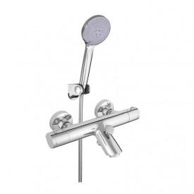 Смеситель в ванную настенный Thermo-10/K Rubineta H10L08