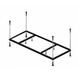 Каркас металлический для ванны 120x120 KMY120120 Alpen