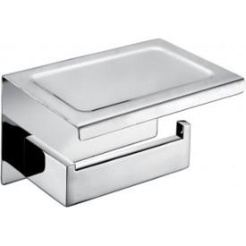 Держатель для туалетной бумаги с полкой AltroBagno Aperto Aperto 080907 Cr