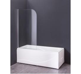 Шторка для ванны Grossman GR-100 140x80 алюминиевый профиль GROSSMAN