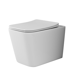 Подвесной унитаз Ceramica Nova CUBIC CN1806