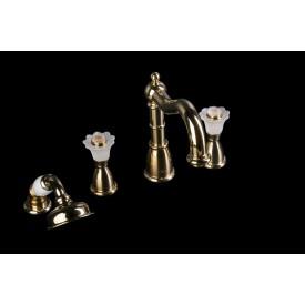 Смеситель врезной Boheme Сamelia 395-Camelia золото