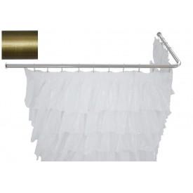 Карниз для ванны угловой Г-образный Aquanet 130x70 00241634