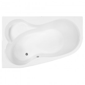 Акриловая ванна VAGNERPLAST MELITE 160 Left VPBA163MEL3LX-04