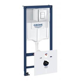 Система инсталляции Grohe комплект 5 в 1 для унитаза 38827000 1,13 м