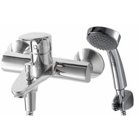 Смеситель для ванной на 2 отверстия Bravat F64898C-B