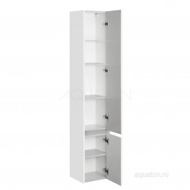 Шкаф - колонна Стоун правый белый Aquaton 1A228403SX01R