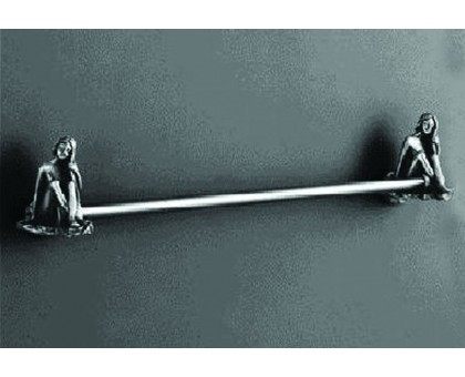 Полотенцедержатель одинарный подвесной 60 см. ART&MAX AM-0717-T