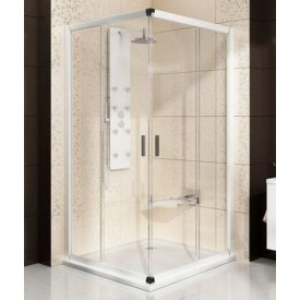 Душевая дверь Ravak Blix 1XVD0100Z1 110 белый прозрачный