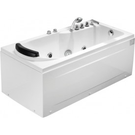 Ванна с изливом Gemy 172х77 G9006-1.7 B R