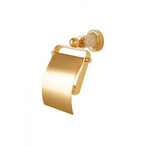 Держатель для т./бум. с крышкой Boheme Murano 10901-W-G