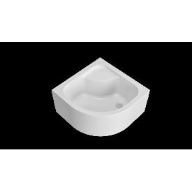 W90T-401A090W Gem Deep душевой поддон 90х90 с сифоном белый