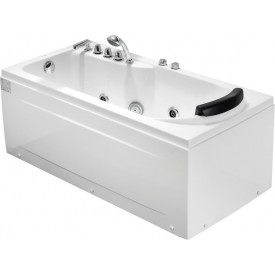 Ванна с изливом Gemy 172х77 G9006-1.7 B L