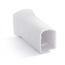 Аксессуар для скрытия кабеля белый пластик