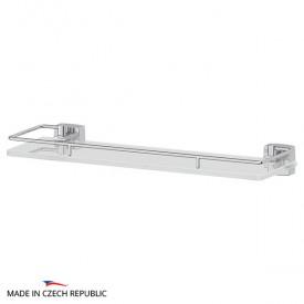 Полка с держателями (матовое стекло; хром) FBS ESP 014 40 см