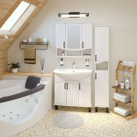 Комплект мебели для ванной Runo Марсель 80