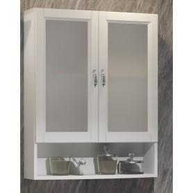 Шкаф Клио 63 подвесной 2 створчатый, с матовым стеклом Opadiris 00-00000446