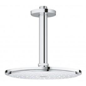 Верхний душ Groheмм с потолочным душевым кронштейном 26063000 142 мм
