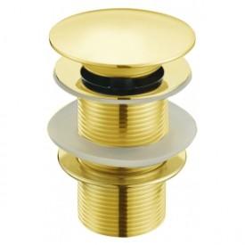 Донный клапан без перелива (золото) MLN-TB51-1