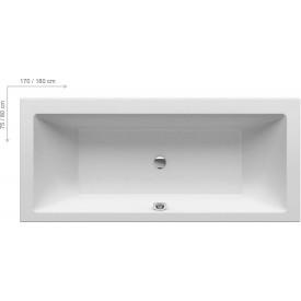 Акриловая ванна Ravak FORMY C881000000 180x80 белая