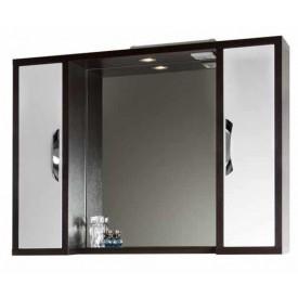Зеркало VOD-OK Клаудия 105 см Венге-К/Бел-Ф