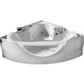 Ванна с изливом Gemy 155х155 G9025 II K