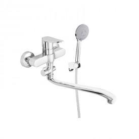 Смеситель в ванную настенный Static-12/G Rubineta A2GA08N