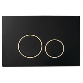 Кнопка для инсталляции пластик Boheme 663 черный