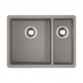 Кухонная мойка Omoikiri Kata 55-2-U-GR 4993390 leningrad grey