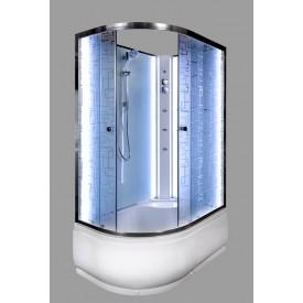 Душевая кабина Deto EM4511 R N LED с гидромассажем