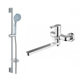 Комплект для ванной комнаты Bravat Stream-D 2 в 1  F00412C