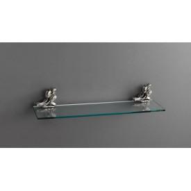 Полка стеклянная подвесная 60 см ART&MAX AM-0823-T