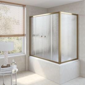 Душевая шторка на ванную Z2V+ZVF 170*85 02М 02 VegasGlass