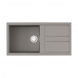 Кухонная мойка Omoikiri Kitagawa 100-GR 4993788 leningrad grey