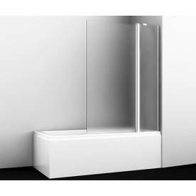 48P02-110R Matt glass Fixed Стеклянная шторка на ванну WasserKRAFT