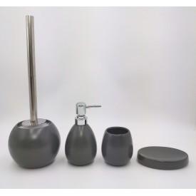 Керамический набор для ванной серый матовый Gid G-matt 50 33410