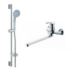 Комплект для ванной комнаты Bravat Eco 2 в 1 F00414C