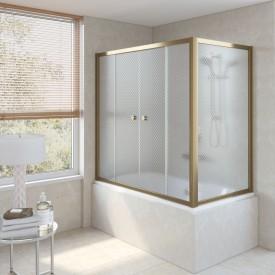 Душевая шторка на ванную Z2V+ZVF 180*80 02М R04 VegasGlass