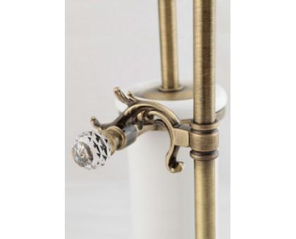 Стойка напольная для унитаза и биде с держателем щетки и туалетной бумаги ART&MAX AM-1948-Do-Ant-C