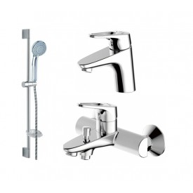 Комплект для ванной комнаты Bravat Drop-D 3 в 1  F00312C