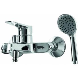 Смеситель для ванной на 2 отверстия Bravat F6111147C-B