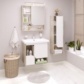 Комплект мебели для ванной Runo Сити 70 подвесной