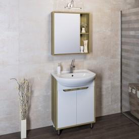 Комплект мебели для ванной Runo Эко 60