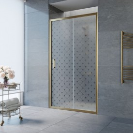 Душевая дверь ZP 100 02М R05 L VegasGlass