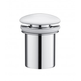 Донный клапан Timo 8011/00-16 хром-белый
