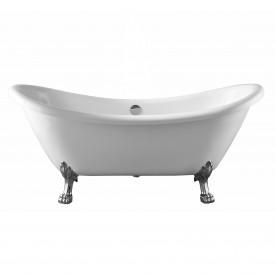 Ванна акриловая Swedbe Vita 176 8818CH отдельностоящая с ножками