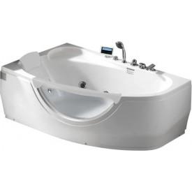 Ванна с изливом Gemy 161х96 G9046 K L
