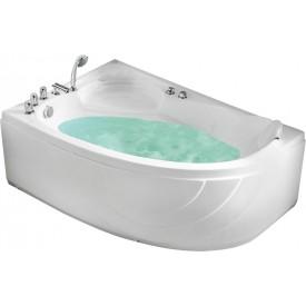 Ванна с изливом Gemy 150х100 G9009 B L